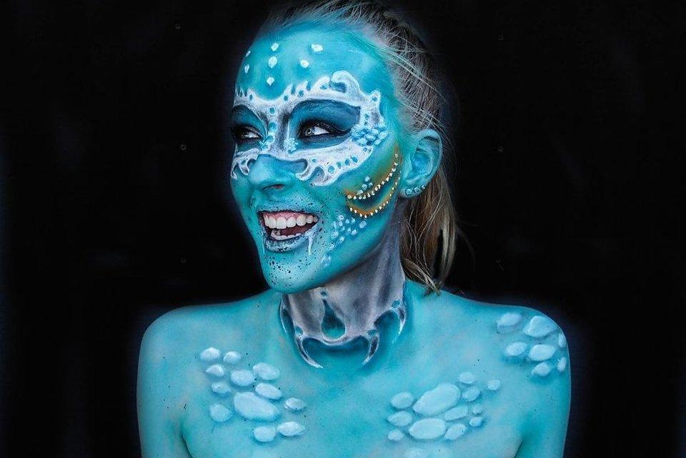 20 maquiagens monstruosas feitas por uma adolescente de 16 anos - Mega Curioso