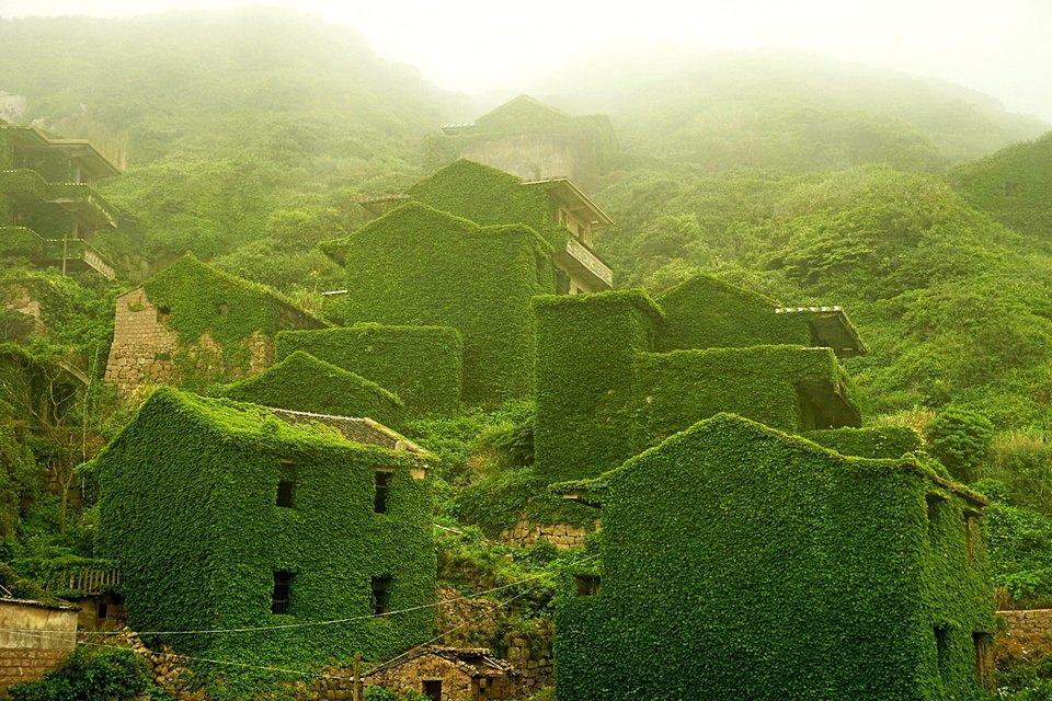 7 lugares onde a natureza venceu a civilização - Mega Curioso