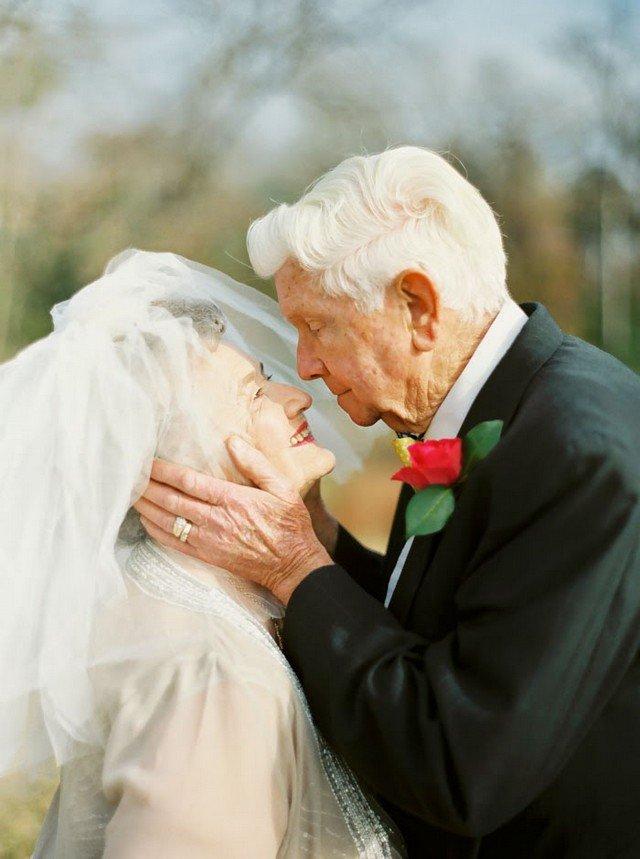 63 anos juntos: casal faz o ensaio mais fofo do mundo para celebrar união