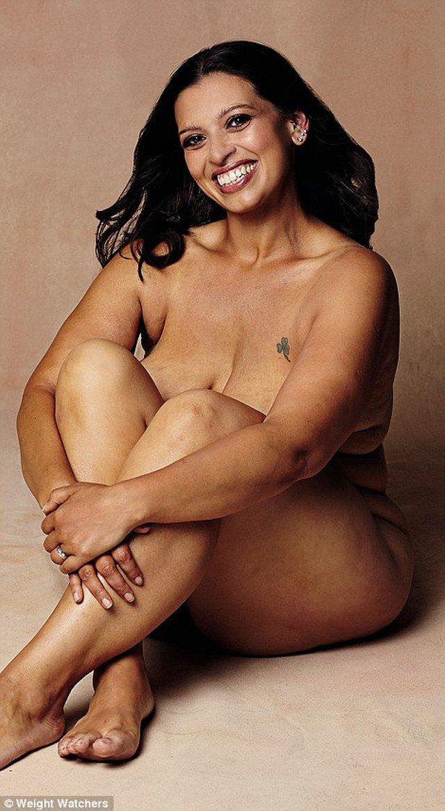 Estas 6 mulheres fizeram um ensaio sem roupa após emagrecerem 160 kg juntas