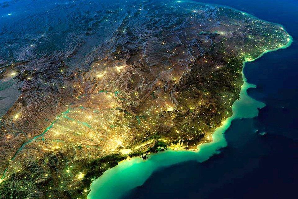 Mais 15 imagens de satélite que vão mudar sua percepção sobre o mundo - Mega Curioso