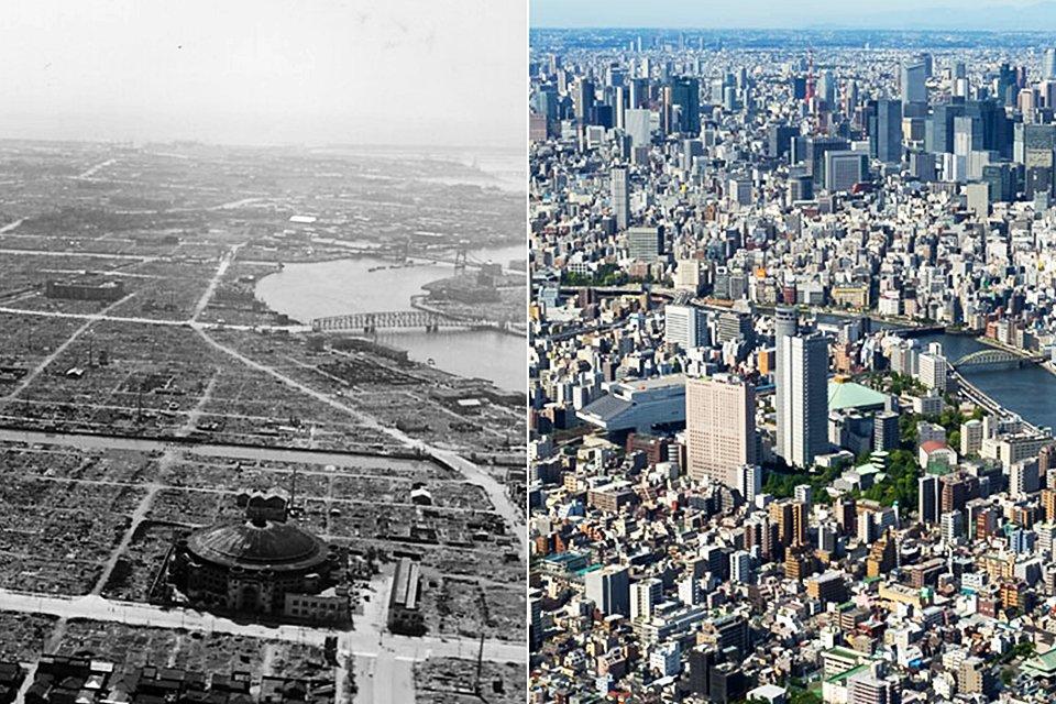 Antes e depois: veja a transformação de 16 lugares ao longo dos anos - Mega Curioso