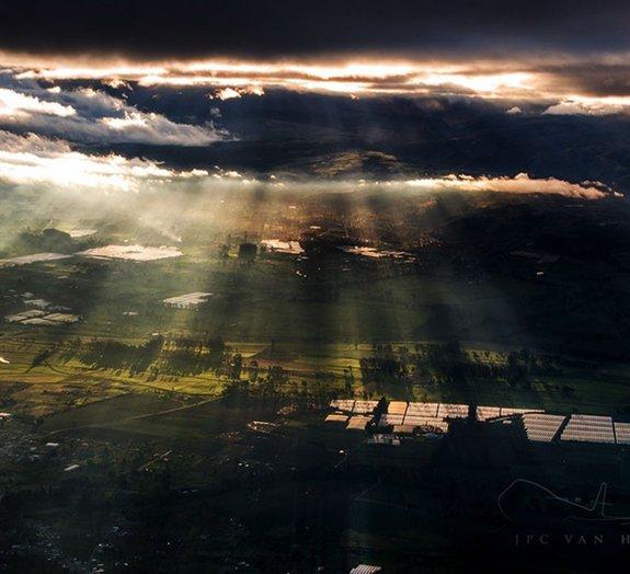 8 fotos impressionantes tiradas por um piloto de avião
