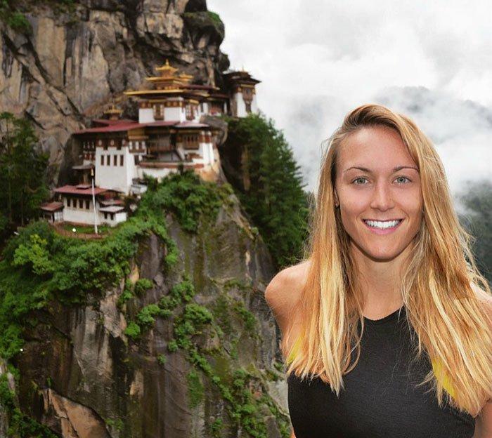 Inveja: Esta mulher está prestes a ser a que mais visitou países no mundo