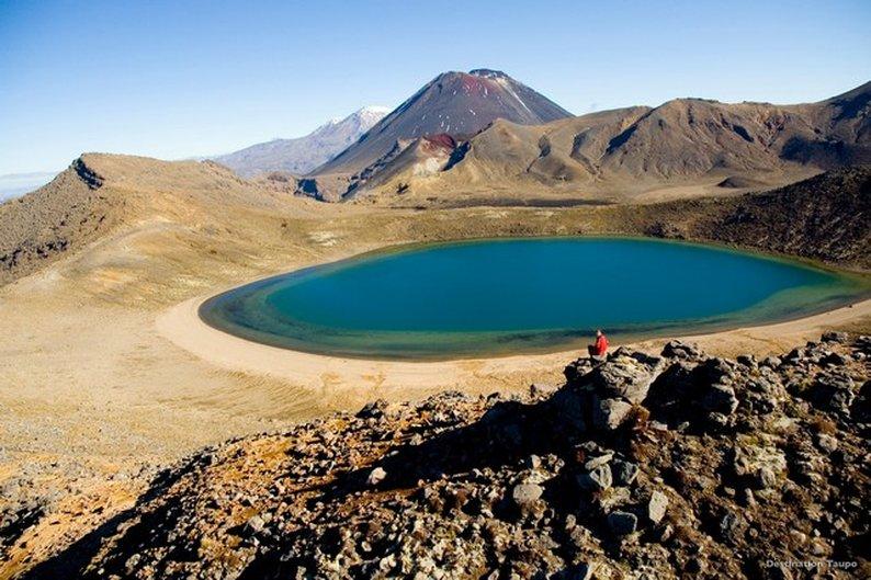 Blue Lakes, em Tongariro-National Park, Ruapehu