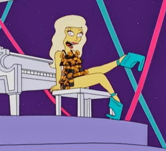 Simpsons havia 'previsto' show de Lady Gaga no Super Bowl: vídeo