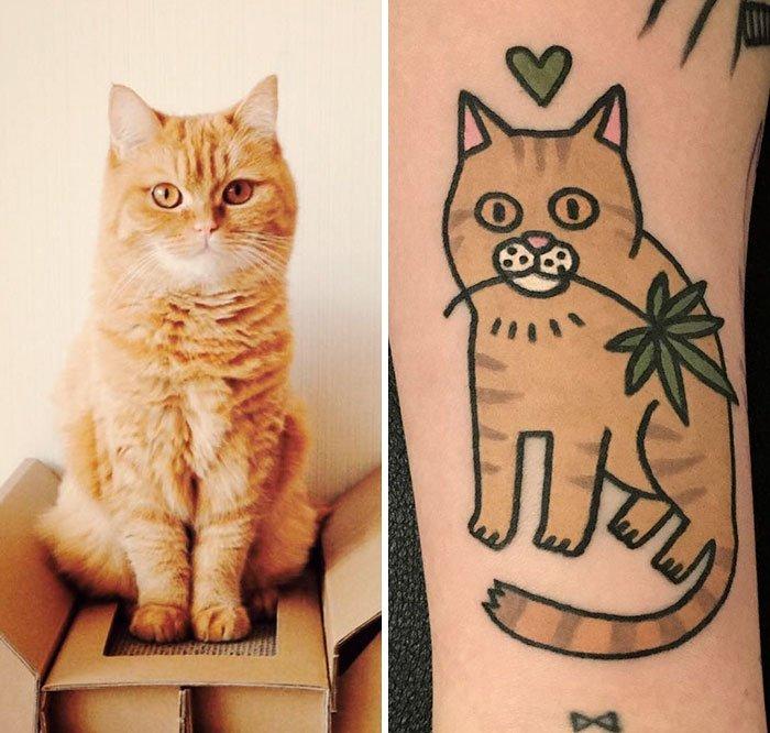 Já quis fazer uma tattoo do seu animal de estimação? Então veja estas fotos