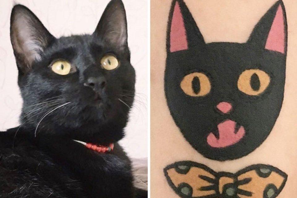 Já quis fazer uma tattoo do seu animal de estimação? Então veja estas fotos - Mega Curioso