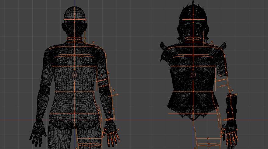 Artista cria armadura medieval móvel e iluminada com impressora 3D