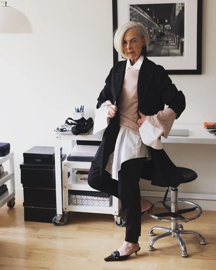 A professora que teve sua vida mudada por ser confundida com ícone da moda