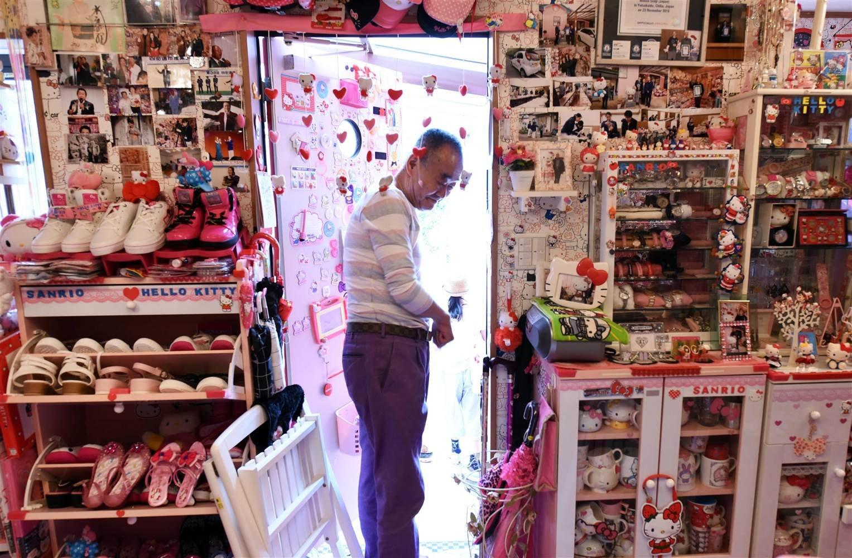 Sabe quem é o maior colecionador de produtos da Hello Kitty? Um policial!