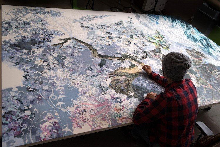 Conheça detalhes do desenho gigante que levou 3,5 anos para ficar pronto