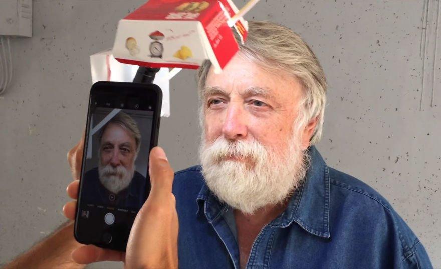 Este cara fez fotos incríveis com uma embalagem de sanduíche e um iPhone
