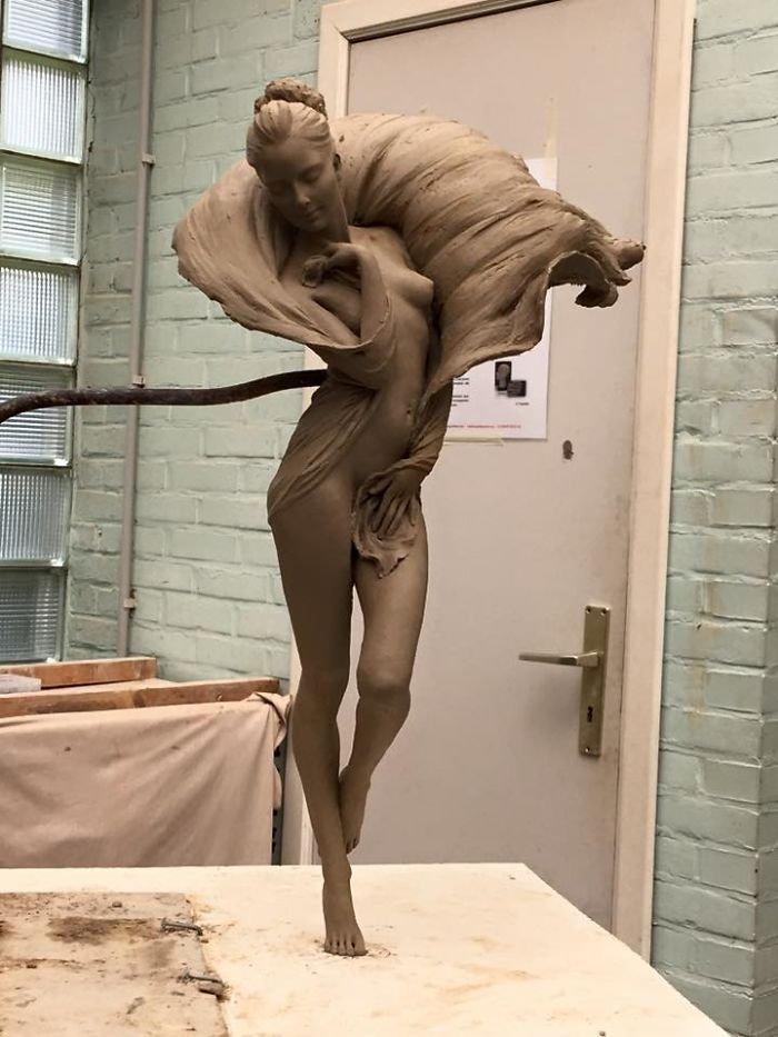A beleza destas esculturas vai deixar você boquiaberto