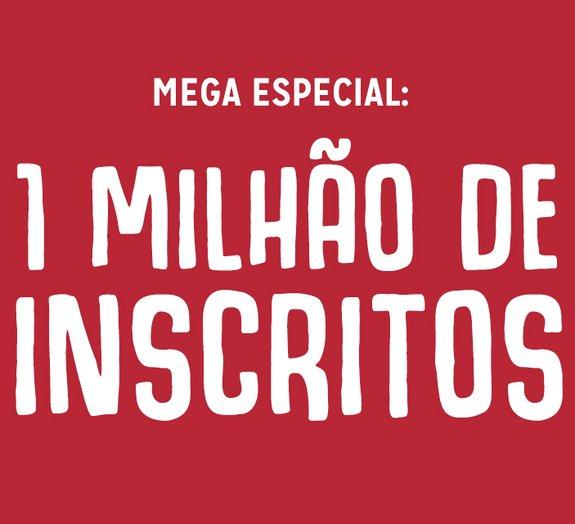 Mega comemora 1 milhão de inscritos no canal do YouTube com retrospectiva
