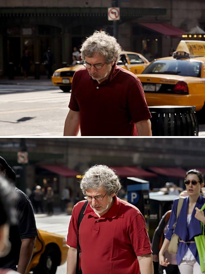 Por 9 anos, fotógrafo registra pessoas indo ao trabalho e o que mudou nelas