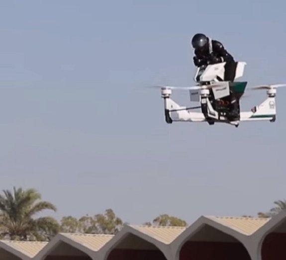 Moto voadora pode ser a próxima novidade da polícia de Dubai; confira