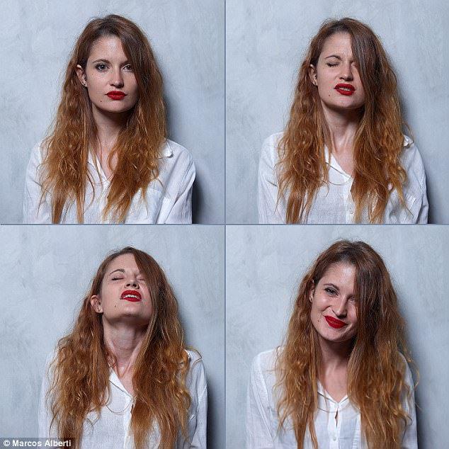Fotógrafo registra rosto de mulheres antes, durante e depois do orgasmo