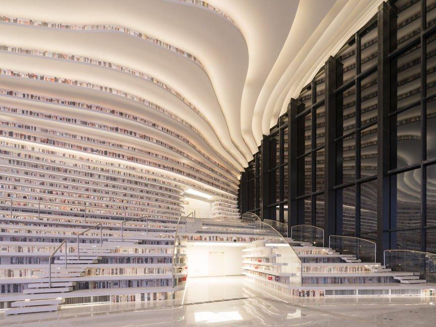 Uau! Conheça esta imensa biblioteca, cujo acervo é de 1,2 milhão de livros