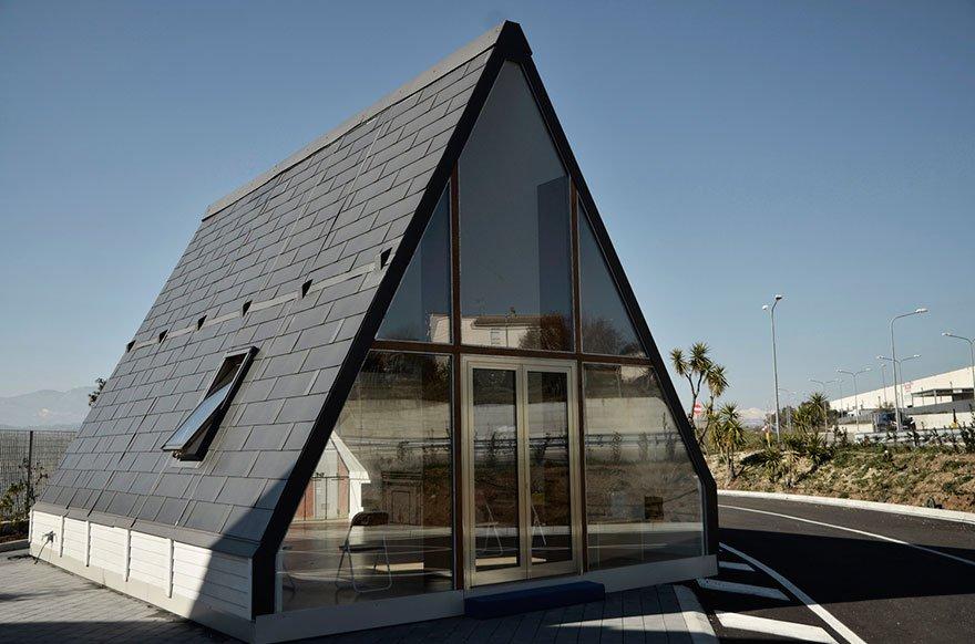 Esta casa linda é feita em 6 horas e custa bem menos do que você imagina