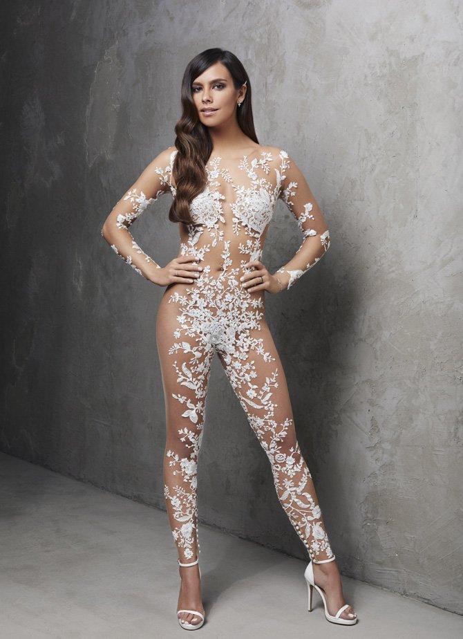Vestido de noiva nude – você já viu esta nova tendência?
