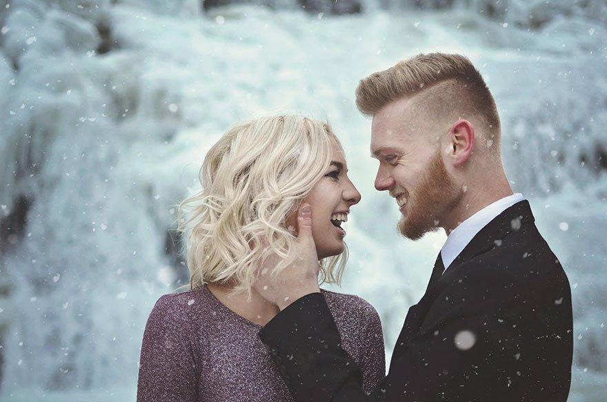 As fotos de noivado deste casal vão te provocar arrepios