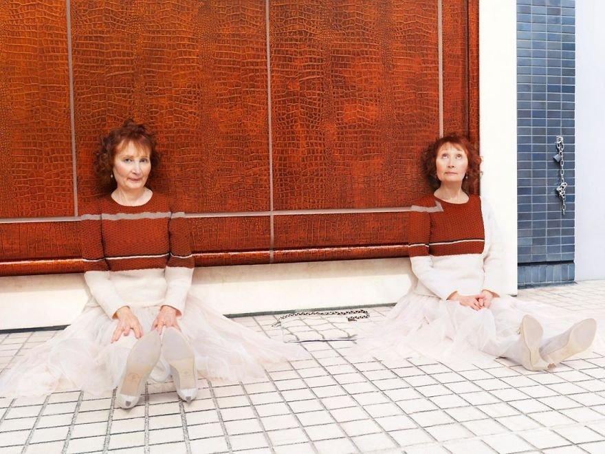 Estas fotos mostram pessoas criativamente camufladas em cenários cotidianos