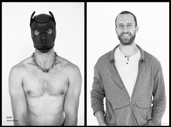 Fotos mostram como pessoas que curtem BDSM são fora do contexto sexual