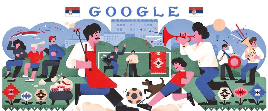 Estes são os Doodles do Google para todas as 32 seleções da Copa do Mundo