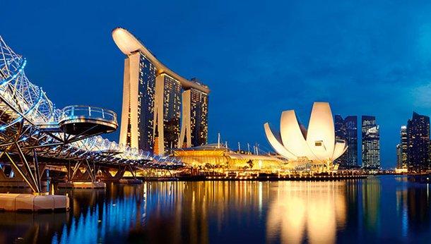 Paisagem de Singapura