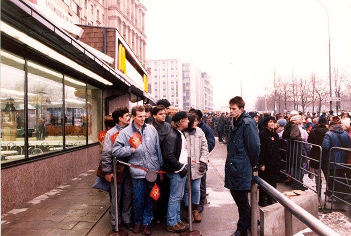 McDonald's Soviético: a abertura da primeira loja da rede em Moscou, 1990