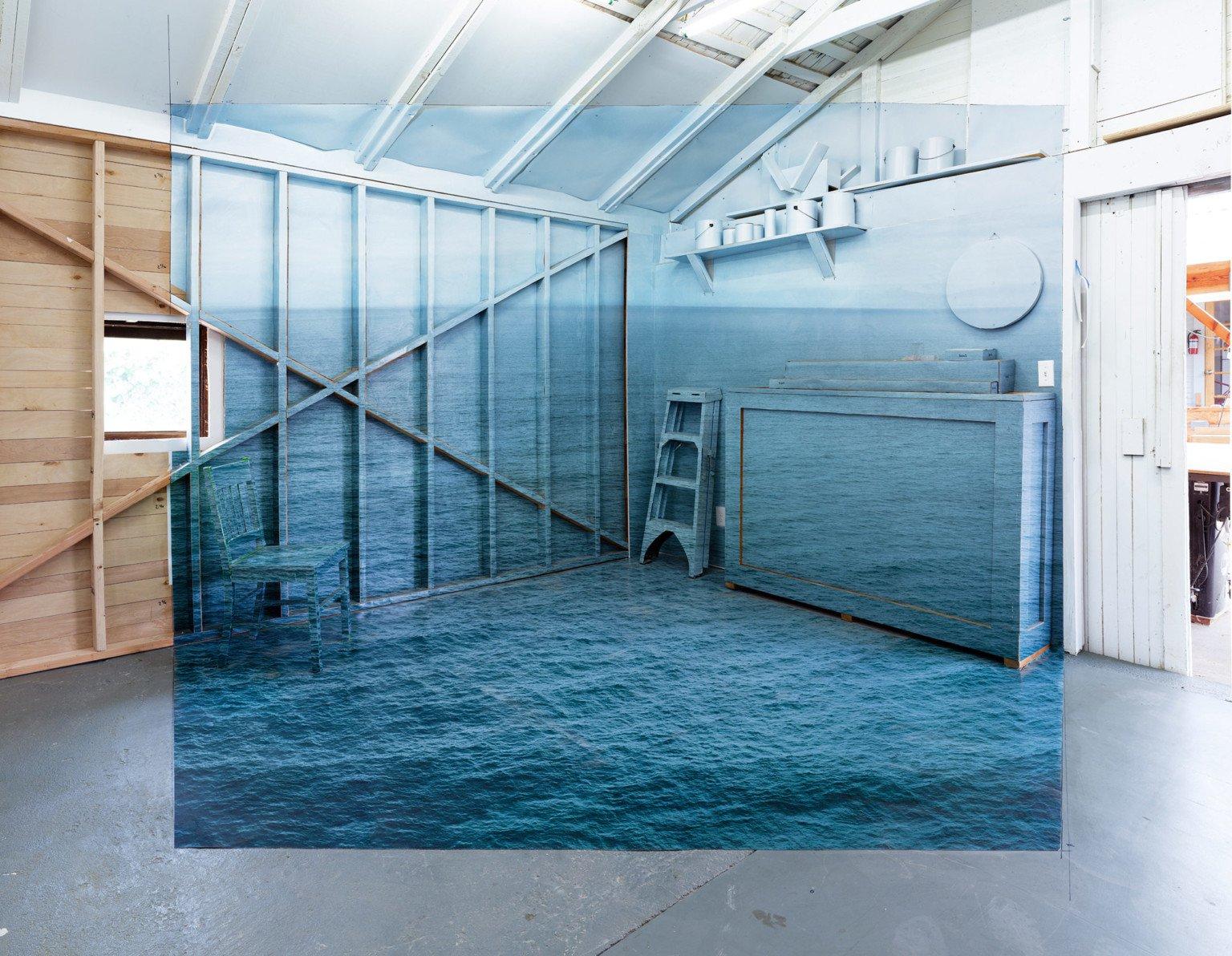 Nestas instalações 3D é possível entrar em fotografias