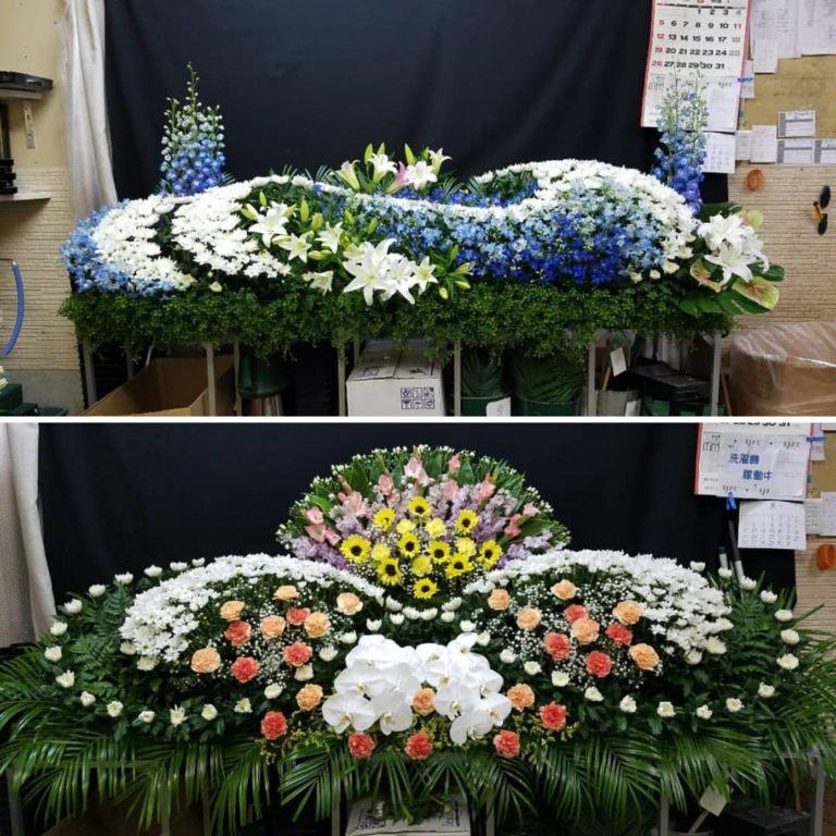Japoneses são mestres em criar arranjos de flores para funerais