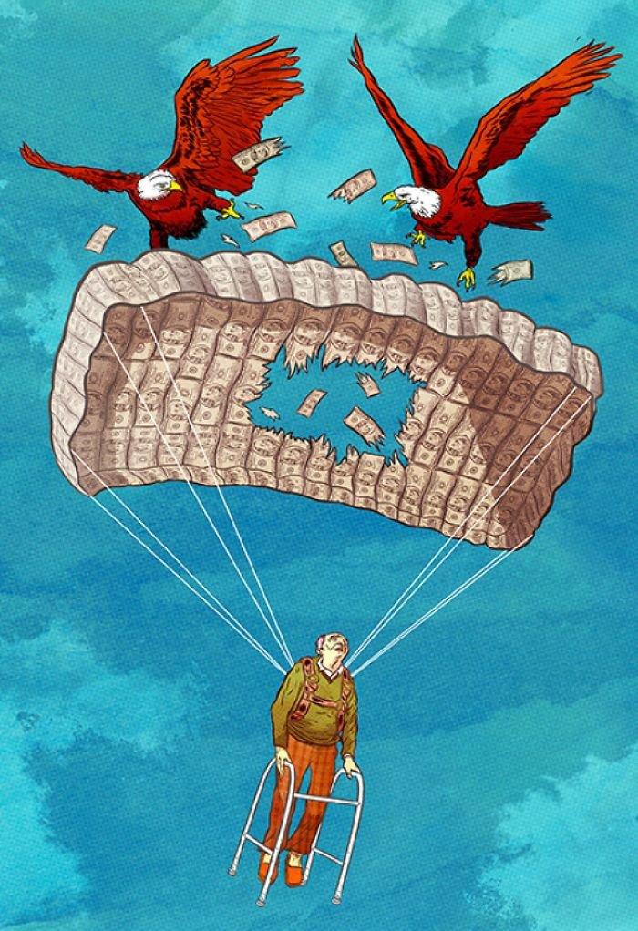 Estas ilustrações sobre a vida moderna são um verdadeiro tapa na cara