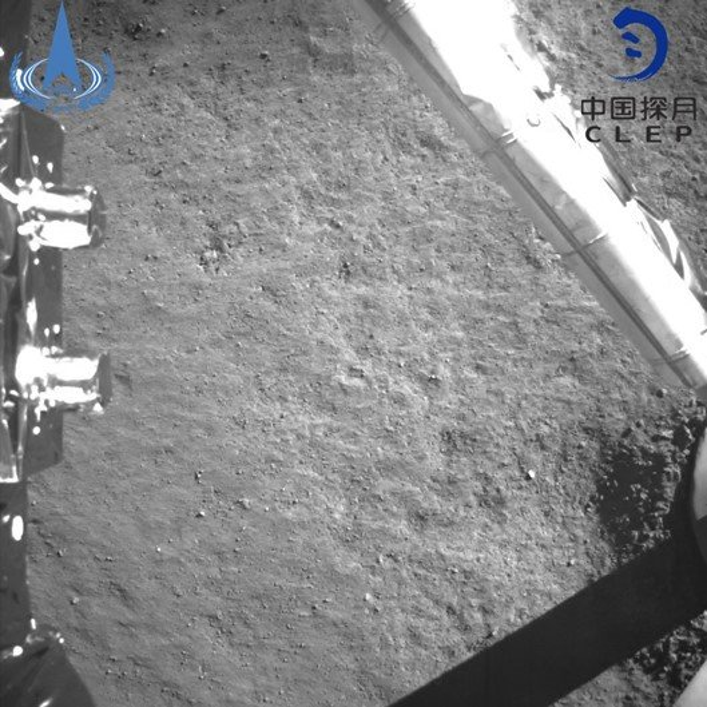 China divulga primeiras fotos tiradas no lado oculto da Lua