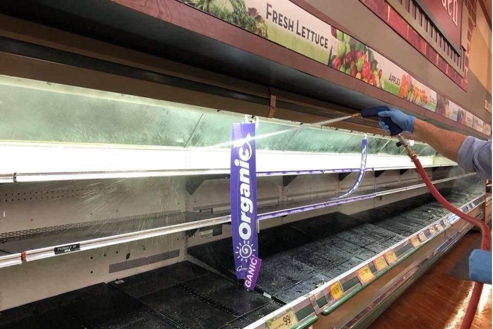 Coronavírus: supermercado é forçado a jogar fora US$ 35 mil em comida