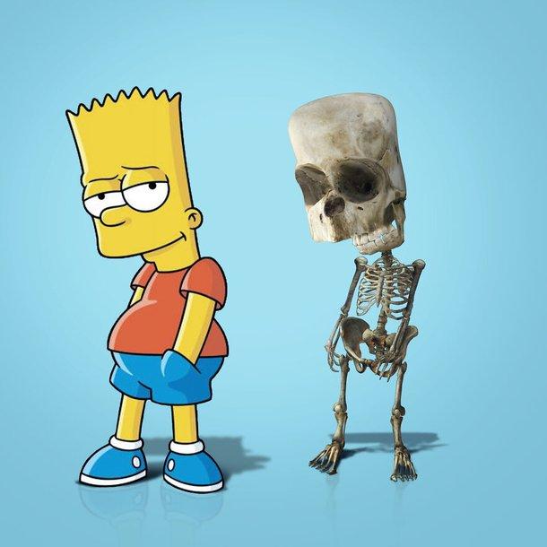 Os Simpsons é exibido pela emissora Fox.