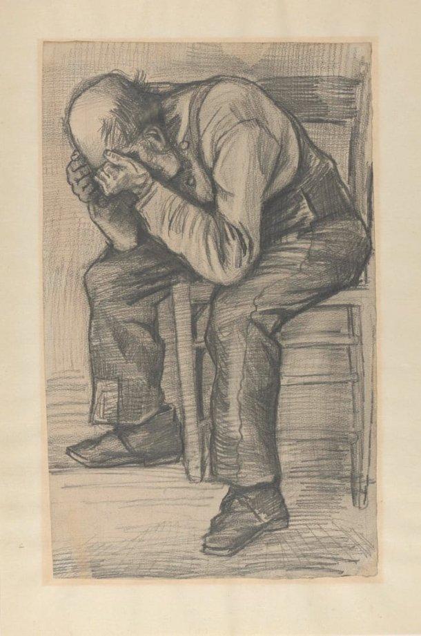 Desenho de Vincent Van Gogh foi descoberto mais de 130 anos depois de sua morte (Imagem: Museu Van Gogh)