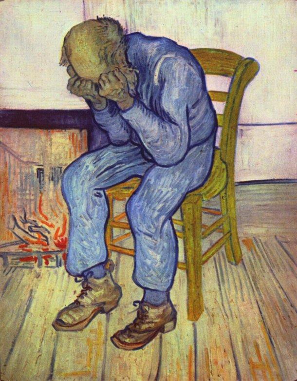 No Portal da Eternidade é uma das obras mais famosas de Van Gogh (Imagem: Wikimedia Commons)
