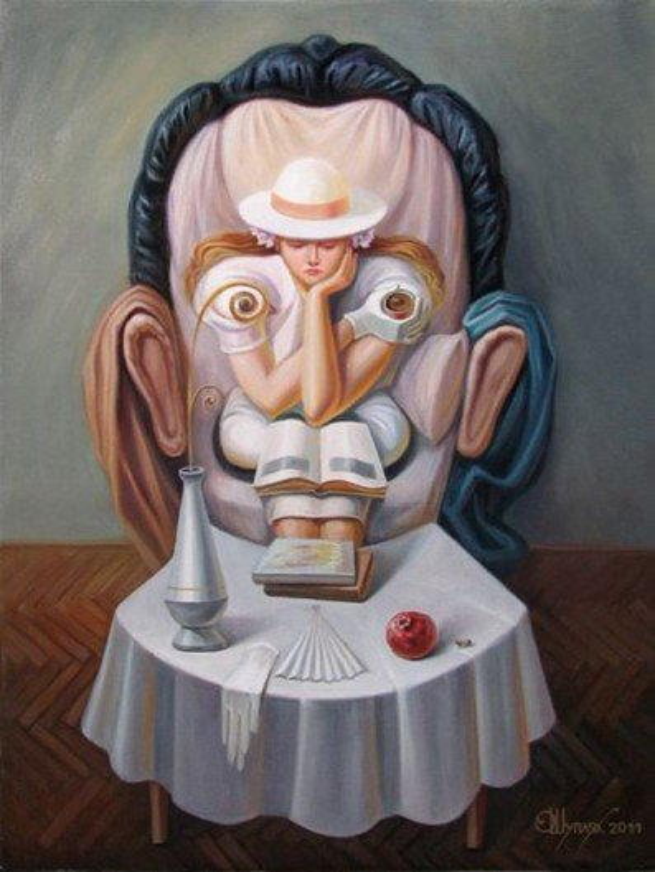 Conheça as incríveis ilusões de óptica de Oleg Shuplyak [galeria]