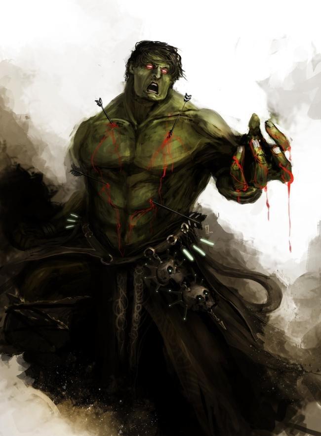 E se 'Os Vingadores' tivessem surgido no mundo de 'O Senhor dos Anéis'?