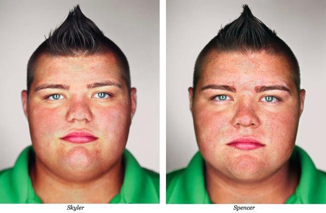 Encontre as diferenças: fotógrafo retrata gêmeos idênticos [galeria]