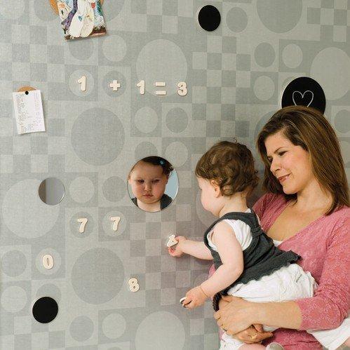 Papel de parede magnético transforma a sua casa em um painel gigante