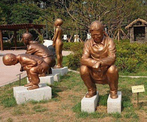 Bizarro: parque dedicado aos sanitários é inaugurado na Coreia [galeria]