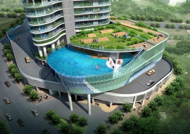 Que tal uma piscina na varanda do seu apartamento?