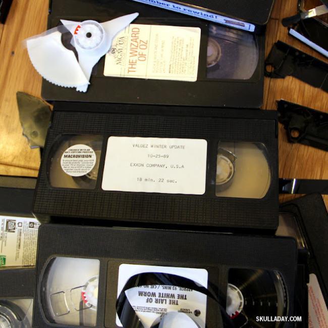 O que fazer com as suas velhas fitas de vídeo? Arte, claro! [vídeo]