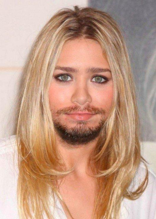 E se as mulheres mais bonitas do mundo tivessem barba? [galeria]