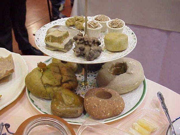 Banquete indigesto: 12 imagens de alimentos feitos de pedra