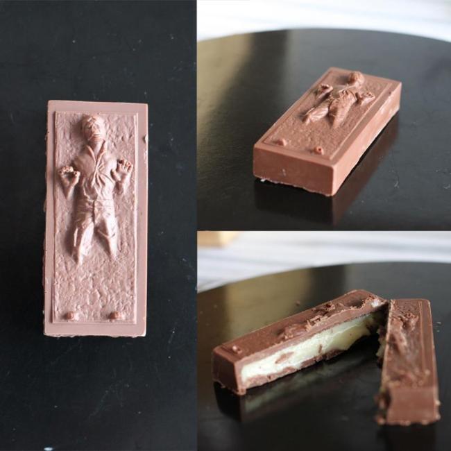 Darth Vader e Stormtroopers de chocolate? Conheça o lado doce da Força