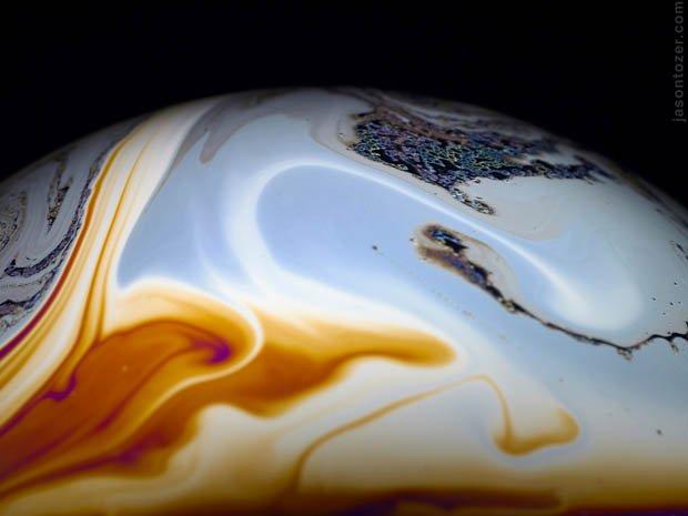 Conheça o sistema solar psicodélico feito de bolhas de sabão [galeria]